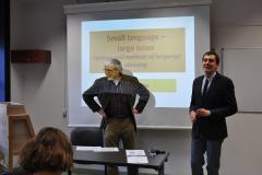Otwarcie konferencji i wykład prof. Leoša Šatavy