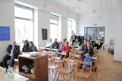 Publiczność na sobotniej porannej sekcji