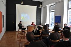 Wykład Katarzyny Sobolewskiej i Piotra Szatkowskiego o mazurskiej tożsamości regionalnej i językowej