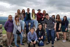 Wycieczka studentów języka słowackiego na Słowację. Spišský hrad
