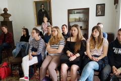 Wycieczka studentów języka słowackiego na Słowację. Liptovský Mikuláš: Tatrín